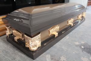 Paulownia Wood Coffins (WM03) pictures & photos