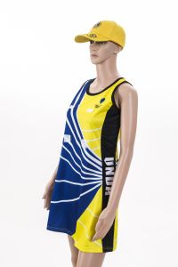 Cheap Pattern Girls Sexy Netball Dress, Custom Sublimation Netball Uniforms pictures & photos
