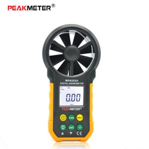 Peakmeter Ms6252A Digital Anemometer with Display Backlit