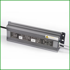 Outdoor IP67 Waterproof 12V 150W DC LED Driver with Ce RoHS pictures & photos
