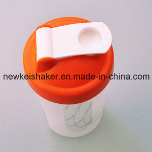 400ml Gym Shaker Bottle with Wire Ball pictures & photos