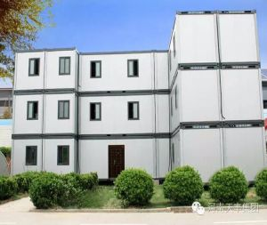 3 Stories Container House for Office and Accommodation pictures & photos