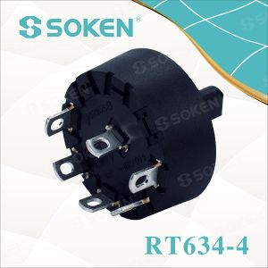 Blender 5 Position Rotary Switch 6 (4) a 250V T85 pictures & photos