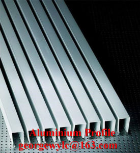 Building Material 6061 6063 T5 Extruded Aluminum Profile Aluminum Profile for Casement Window Sliding Window pictures & photos