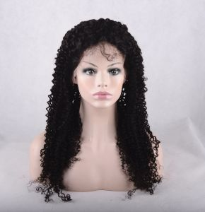 Unprocessed Virgin Remy Human Hair Full Lace Front Wigs pictures & photos