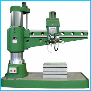 Low Cost Radial Drilling Machine