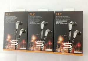 Popular Super Bass Stereo Silver Earphone