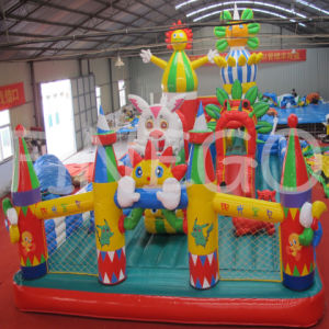 Finego Clown Bounce Castle in Cheap Price pictures & photos