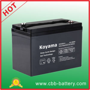 200ah 6V Deep Cycle Gel Battery for Floor Machine pictures & photos