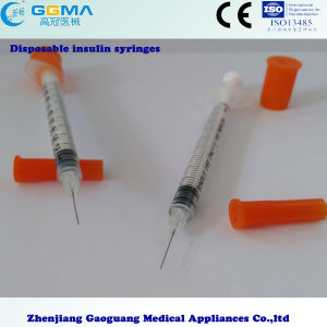 OEM Factory Supply Disposable Syringe/Insulin Syringe pictures & photos