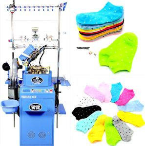 Weihuan (WH) Computerized 3D Sock Knitting Machine, 3D Sock, Plain Socks (WEIHUAN-6FR) pictures & photos