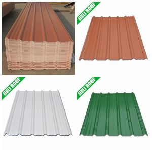Best Selling 3-Layer Heat Insulation UPVC Roofing Material pictures & photos