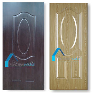 Customized Colour Size Decorative Ecology Melamine Wooden Door Hotel Rooms pictures & photos
