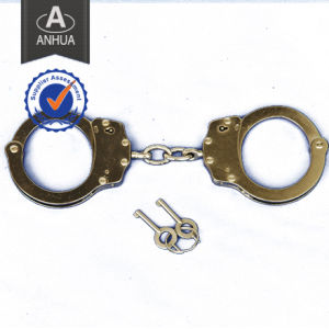 Police Handcuff with Double Locking System pictures & photos