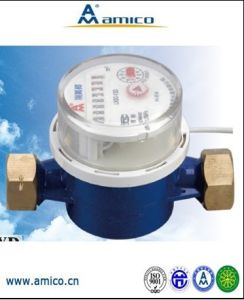 (A) Made in China Wired Remote Reading Single-Jet Water Meter pictures & photos