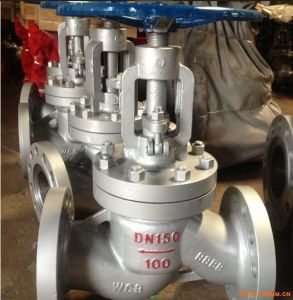 Low Price Stainless Steel Globe Valve with Flange pictures & photos