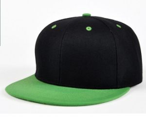 Custom Fitted Flat Cotton Snapback Hats pictures & photos