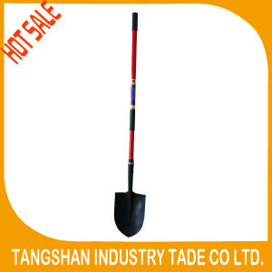 Hot Sale Fiberglass Long Handle Shovel Spade pictures & photos