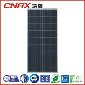 165W A Grade Cell High Efficiency Poly Solar Panel with TUV Ce pictures & photos