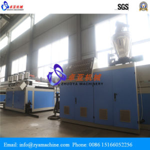 SGS Certified PVC WPC Foam Board Machine/Extruder Line pictures & photos