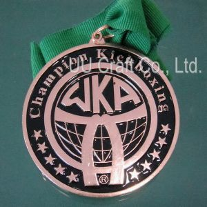 Zinc Alloy Copper Colored Medal (MD-012)