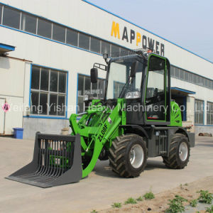 0.8ton Mini Wheel Loader Price List pictures & photos