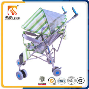 SGS Approved Steel Frame Foldable Baby Stroller Pram Manufacturer pictures & photos
