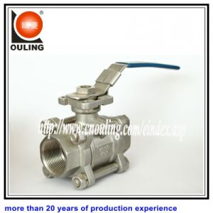 3 PC Threaded Ball Valve