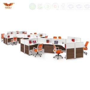High Quality Modern Office Staff Workstation Partition (HY-P01) pictures & photos