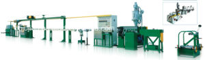 Cable Jacket Sheath Extrusion Line Cable Making Machine for BVV Cable pictures & photos