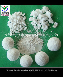Tabular Alumina for Fireproof Raw Materials pictures & photos