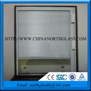 with Blinds Clear Insulated Glass for Window pictures & photos