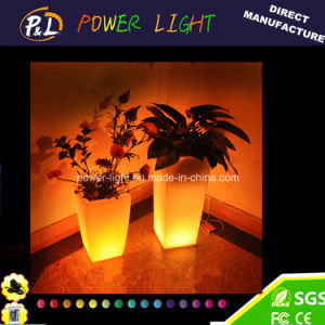 Modern Fashion Illuminated Decorative LED Plant Pot pictures & photos