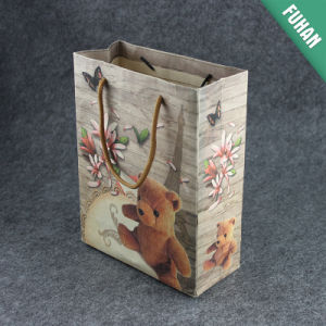 Cute Bear Printing Logo Paper Carrier Bag pictures & photos