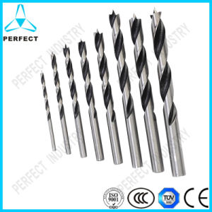 Roll and Forged HSS Wood Brad Point Drill Bits pictures & photos