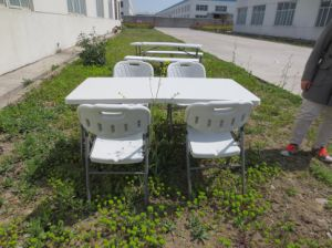 China Cheap Sale Modern Outdoor Furniture 5ft Plastic