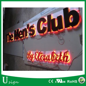 Reverse Lit LED Stainless Steel Channel Letters for Bar Sign pictures & photos