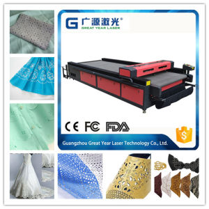 Big Working Table Flat Bed Leather CNC Laser Cutting Machine pictures & photos