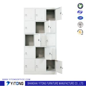 Yitong 15-Door Metal Storage Cabinet / Office Use Steel Locker pictures & photos