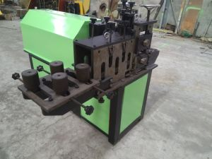 Handrail Machine of The Cold Rolling Embossing Machine Ornamental Iron Hardware pictures & photos