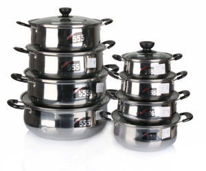 8PCS Steamed Pot Stainless Steel for Kitchen Use pictures & photos