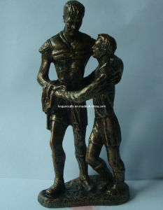 Antique Statue Polyresin Figurine for Home Decoration pictures & photos