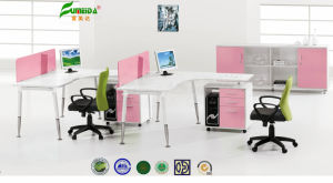 MFC Modern Pink Hot Sale Office Furniture pictures & photos