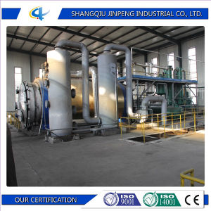 Horizontal Reactor Waste Plastic Recycling to Energy Plant pictures & photos