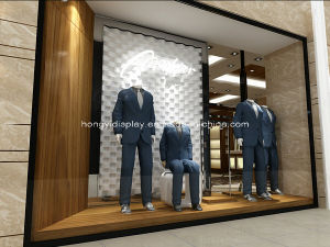 Customize High End Menswear Diplay Fixtures for Luxury Retail Store pictures & photos