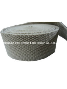 38mm Environment Protection Bead Grey Webbing for Bags Belt pictures & photos