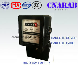 Diala Type Single Phase Mechanical Meter with Bakelite Cover and Bakelite Body Dd862 pictures & photos