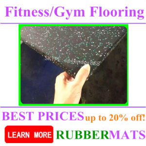 Home Indoor Soft No Smell Gym Flooring pictures & photos