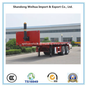 Professional 2 Axles Rear Dumper Semi Trailer From Supplier pictures & photos