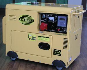 Diesel Generator (6kVA, KDE6500T3) pictures & photos